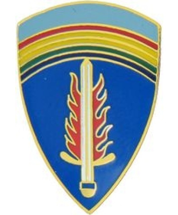 14101 - Army Europe Command Pin