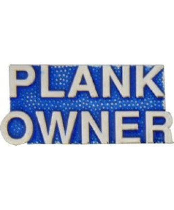 14151 - Plank Owner Script Pin