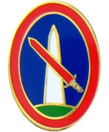 14222 - Military District of Washington Pin