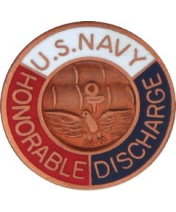 14232 - United States Navy Honorable Discharge Pin