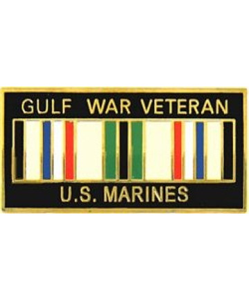 14247 - Gulf War Veteran United States Marine Corps with Ribbon Pin