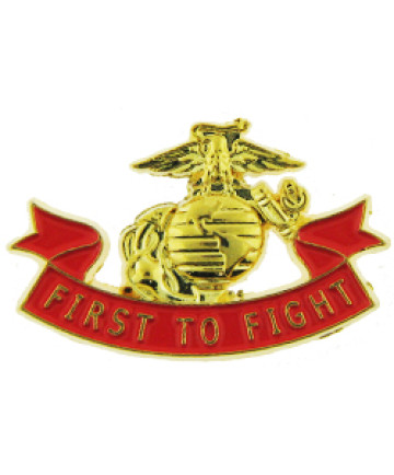 14248 - United States Marine Corps First To Fight Pin