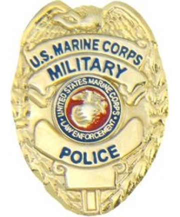 14318 - United States Marine Corps Military Police Badge Pin