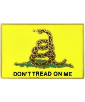 14331 - Gadsden Flag Don't Tread On Me Pin