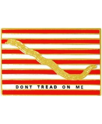 14332 - First Navy Jack Don't Tread On Me Pin
