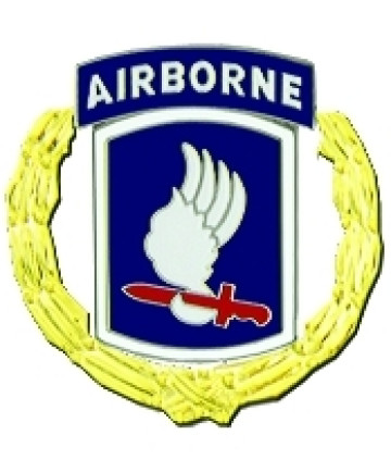 14335 - 173rd Airborne Division with Wreath Pin