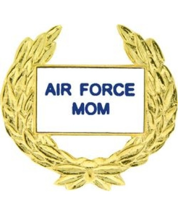14360 - United States Air Force Mom with Wreath Pin