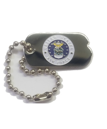 14369 - United States Air Force Emblem Dog Tag Pin