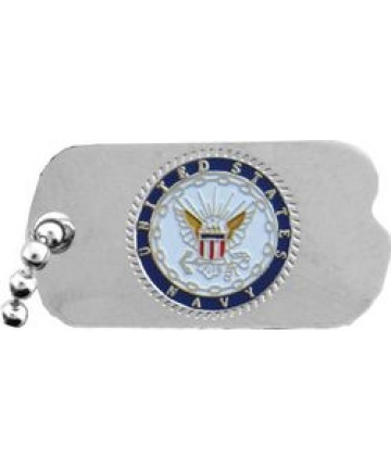 14371 - United States Navy Insignia Dog Tag Pin