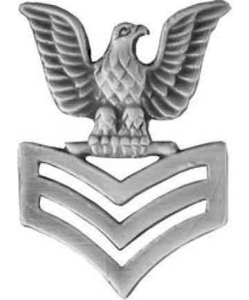 14382 - Petty Officer First Class (PO1 / E-6) Right Collar Device Pin