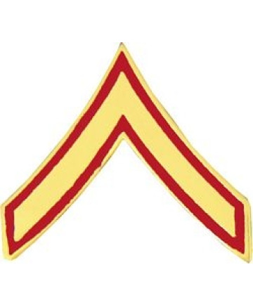 14386 - Marine Corps Private First Class (PFC / E-2) Rank Insignia Pin