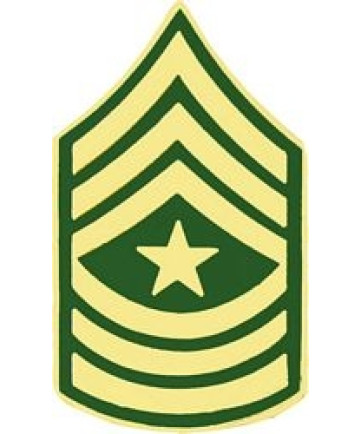 14432 - Army Sergeant Major E-9 (SGM) Pin