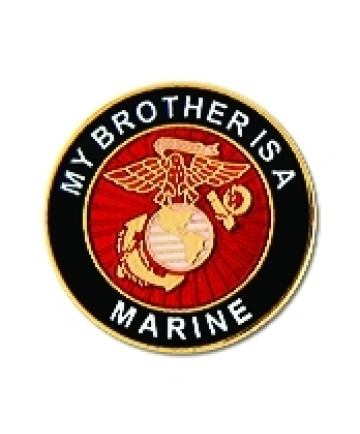 14472 - My Brother Is A Marine Insignia Pin