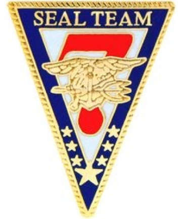 14473 - US Navy Seal Team 7 Insignia Pin