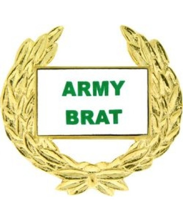 14494 - Army Brat with Wreath Pin