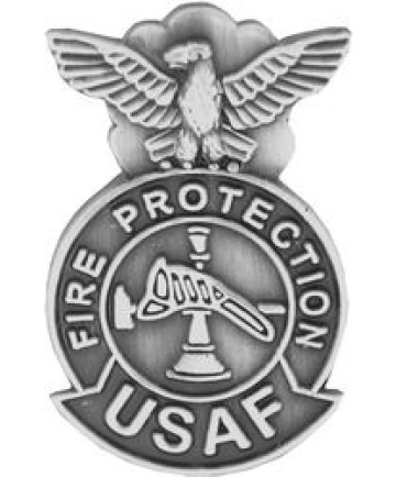 14511 - United States Air Force Fire Protection Badge Pin