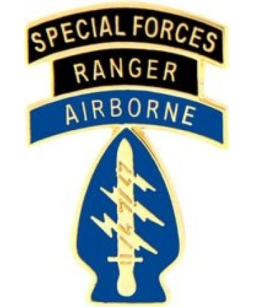 14518 - Special Forces Ranger Airborne Pin