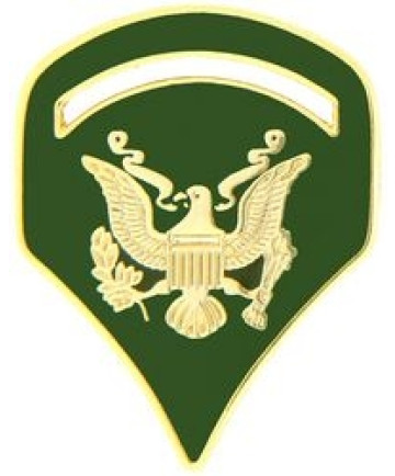 14533 - Army Specialist 5 Rank Insignia Pin