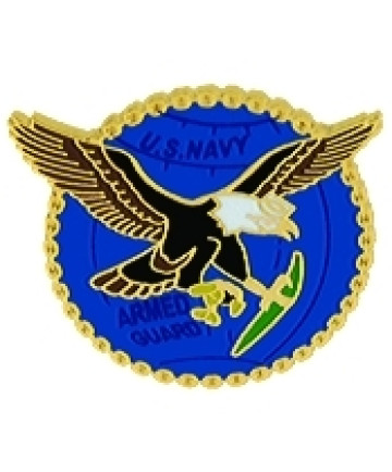 14606 - US Navy Armed Guards Pin