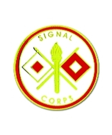 14608 - Signal Corps Insignia Pin