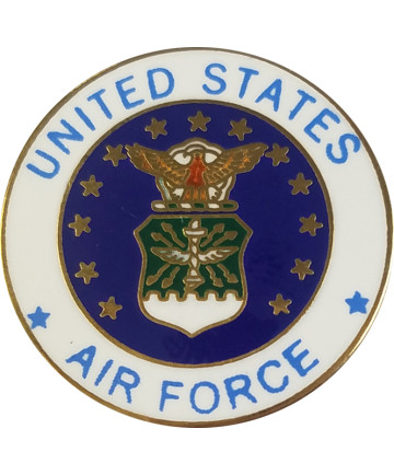 14624 - United States Air Force Emblem Pin