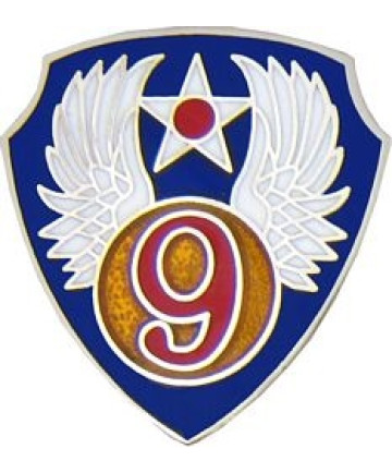 14694 - 9th Air Force Pin