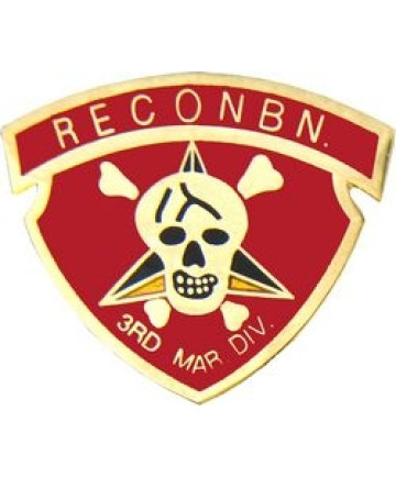 14727 - 3rd Marine Recon Battalion Pin