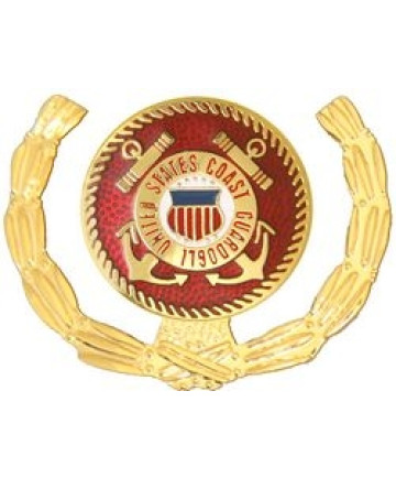 15780 - United States Coast Guard Insignia with Wreath Pin