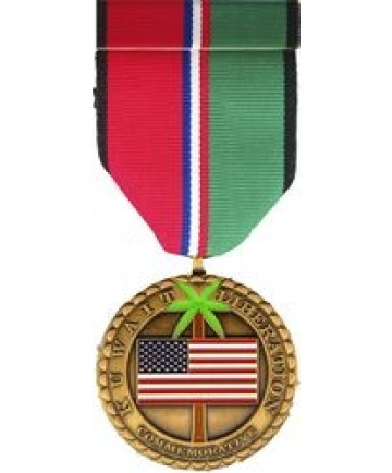 CM25 - Kuwait Liberation Commemorative Medal and Ribbon