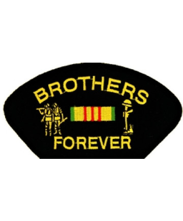 FLB1717 - Vietnam Brothers Forever Black Patch