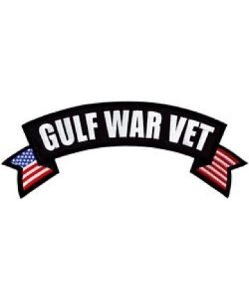 FLF1851 - Gulf War Veteran Rocker Back Patch