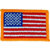 "091010 - Flag Patch 2 5/8 x 1 3/4"" SEW"