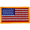 091503 - US Flag 3 1/4 x 1 7/8 Velcro