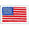 "091504 - US Flag 2 1/2 x 1 3/4"" (sew on)"
