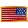 "091509 - US Flag left shldr 3 1/8 x 1 3/4"" (sew on)"