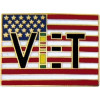 14113 - Vietnam Vet with Flag Pin
