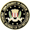 14197 - Federal Bureau of Investigation (FBI) Insignia Pin