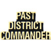 14202 - Past District Commander Script Pin