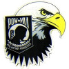 14225 - POW/MIA Insignia with Eagle Tear Pin