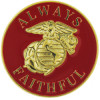 14307 - United States Marine Corps Always Faithful Pin