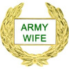 14357 - Army Wife with Wreath Pin