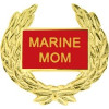 14362 - Marine Mom with Wreath Pin
