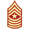 14394 - Marine Corps Sergeant Major (SgtMaj / E-9) Rank Insignia Pin