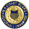 14464 - United States Coast Guard Honorable Discharge Insignia Pin