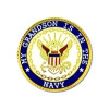14522 - My Grandson Is In The Navy Insignia Pin