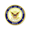 14626 - My Dad Is In The Navy Insignia Pin