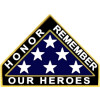 14643 - Honor, Remember Our Heroes Pin