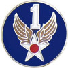 14686 - 1st Air Force Pin