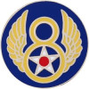 14693 - 8th Air Force Pin