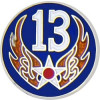14698 - 13th Air Force Pin